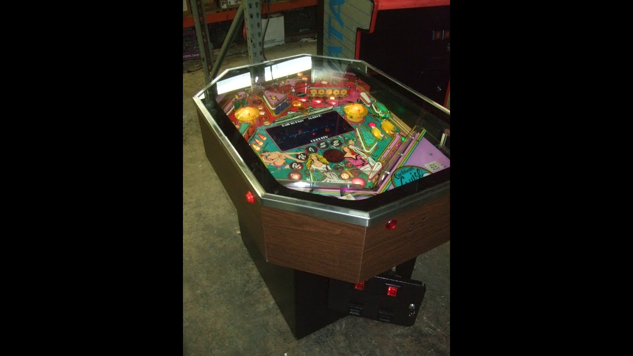 302 Rare CARIBBEAN CRUISE cocktail table Pinball Machine and its