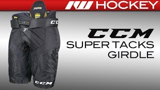 CCM Super Tacks Girdle/Shell Combo Review