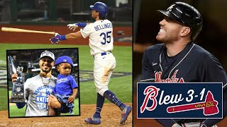 THE BRAVES BLEW A 3-1 LEAD! Cody Bellinger SAVES Dodgers, World Series 2020 (MLB Recap)