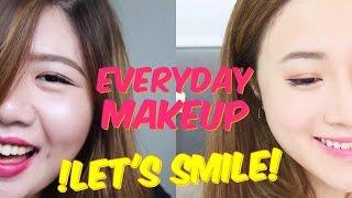 JM ♡ 每天也能用上!歐美♥韓風♥簡易日常妝   Everyday Makeup Sharing