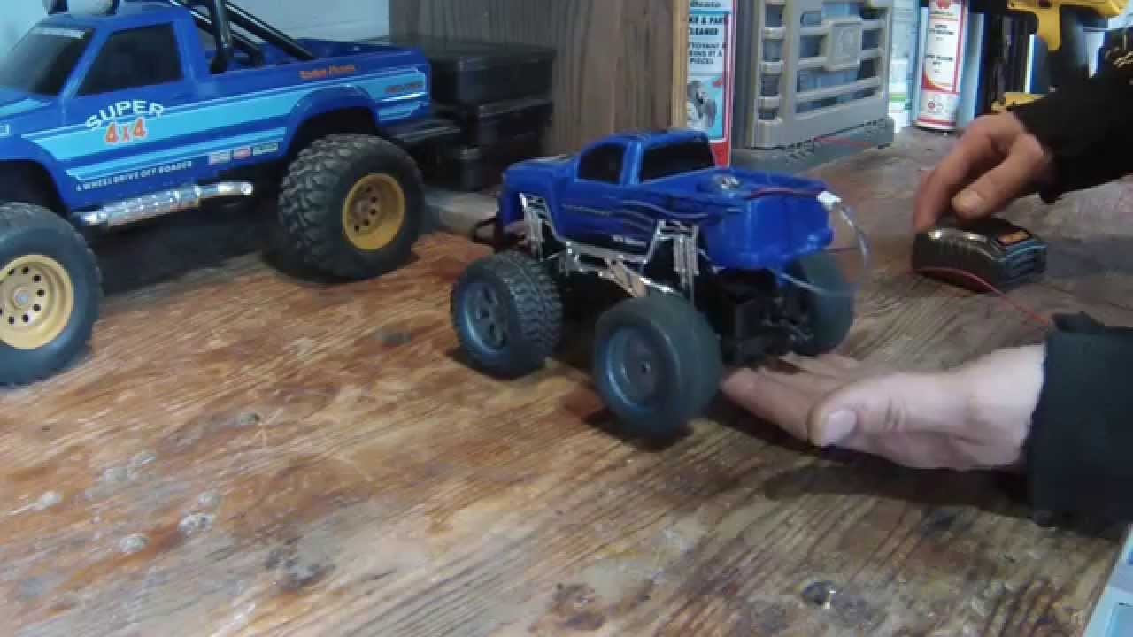 Walmart RC Mods New Bright Chevy Silverado LiPo Hop-Ups Drift Power