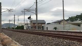 JR貨物 EF65 走行シーン 予讃線