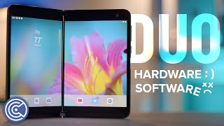 Surface Duo Review - Bad Software, Good Hardware - Krazy Ken's Tech Talk