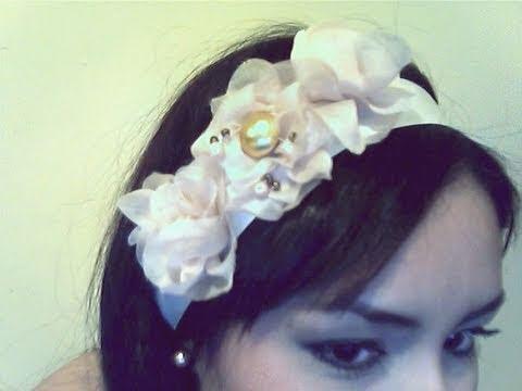 diy flores de tela para un muy bonito facil de hacer