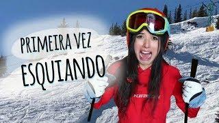 Primeira Vez Esquiando - história real