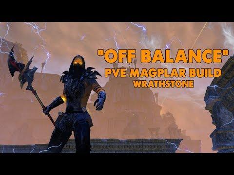 ESO - Off Balance - Magicka Templar PVE Build - (Wrathstone)