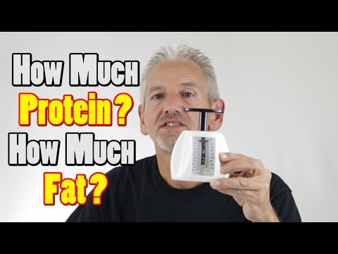 How Much Protein? How Much Fat?