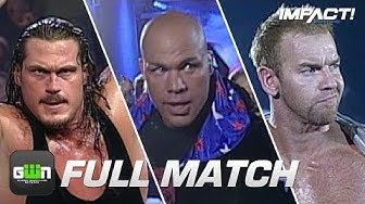 When One Match Lasted an Entire IMPACT Episode! Kurt Angle vs Christian Cage vs Rhino: World Title