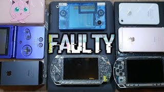 My Faulty/Broken Consoles & Tech Collection!