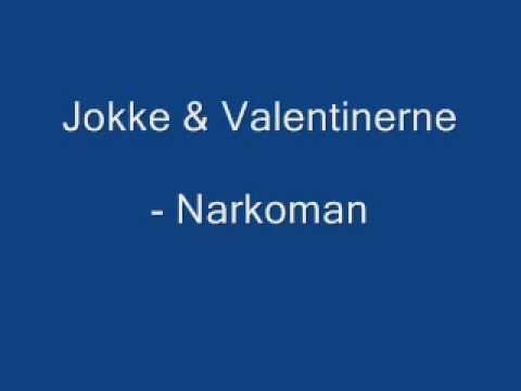 Jokke & Valentinerne - Narkoman med tekst