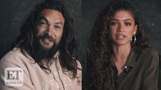 Jason Momoa, Zendaya Talk 'Dune'