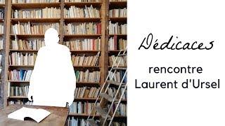 """Laurent d'Ursel dédicace """"Mes écrits"""" de James Ensor"""