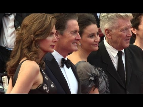 Cannes: Lynch arrives on red carpet for 'Twin Peaks', season 3