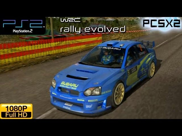WRC Rally Evolved - PS2 Gameplay (Subaru Impreza WRC 2005)  1080p part 2 (PCSX2)