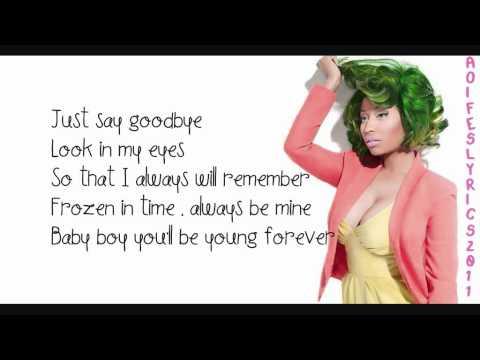 Nicki Minaj Young Forever Lyrics Video