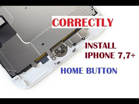 new product c5b06 175a6 REPLACE IPHONE 7 ,7 PLUS HOME BUTTON WITHOUT DAMAGE