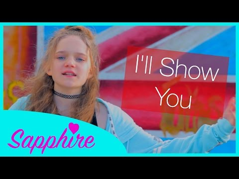 I'll Show You - Justin Bieber - Cover By 12 Year Old Sapphire | 24 Days Of Sapphire