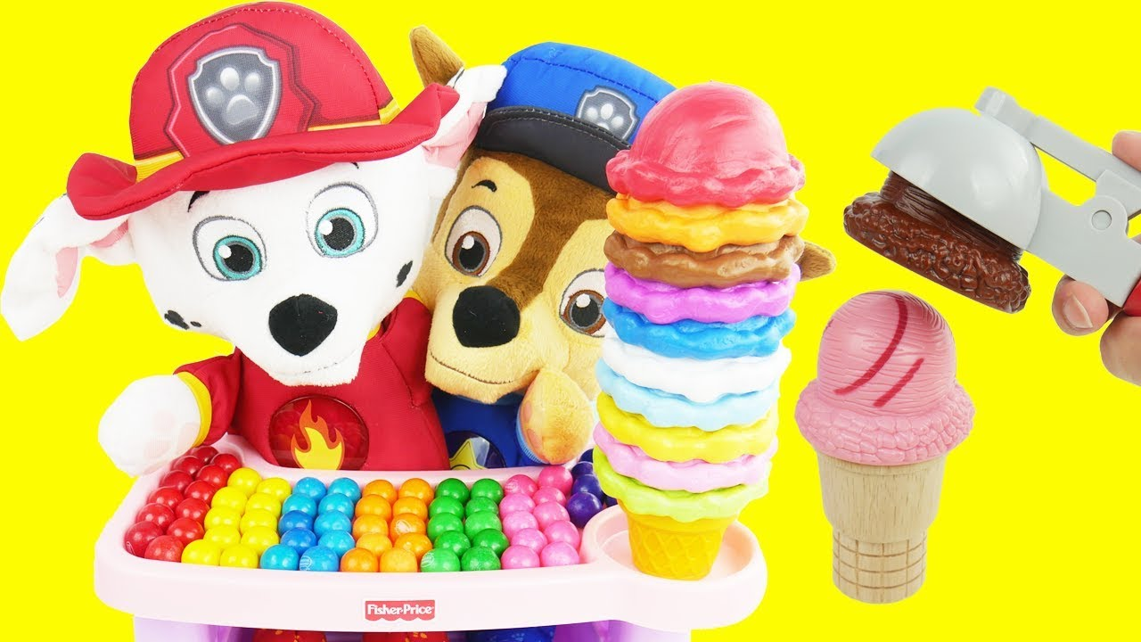 Learn Colors With Yummy Cones Ice Cream Toys Learn For