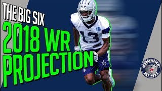 Dallas Cowboys WR Roster Projection   Which 6 WRs Make the Cowboys 53 Roster