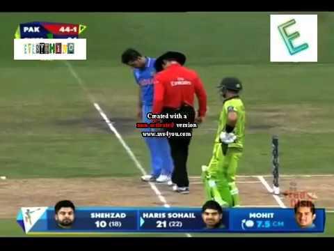 Pakistan & India mach  funy clips