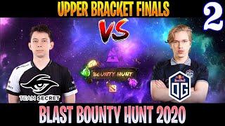 CRAZY GAME !! Secret vs OG Game 2 | Bo3 | Upper Bracket Finals BLAST Bounty Hunt | DOTA 2 LIVE