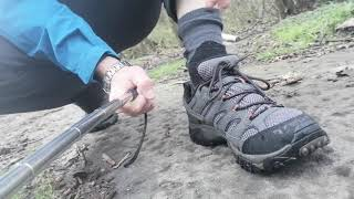 MERRELL MOAB 2 GTX-WATERPROOF TEST(2)