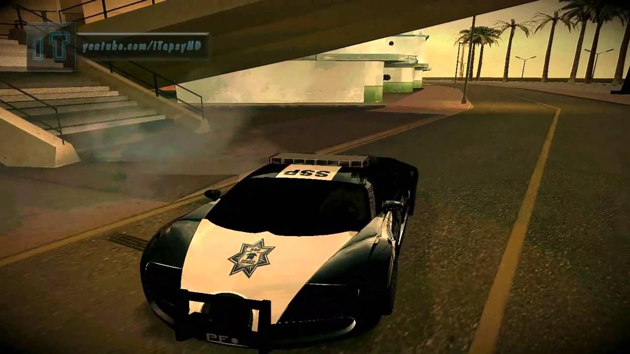 bugatti veyron federal police gta san andreas car mod hd youtube. Black Bedroom Furniture Sets. Home Design Ideas