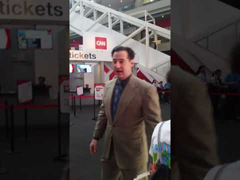 I MET CARL AZUZ AND HE DABBED *NOT CLICKBAIT*
