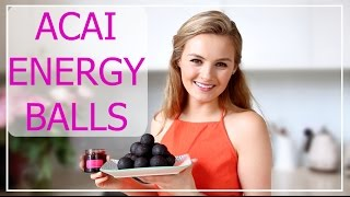 Acai Energy Ball Surprise Recipe | Niomi Smart AD