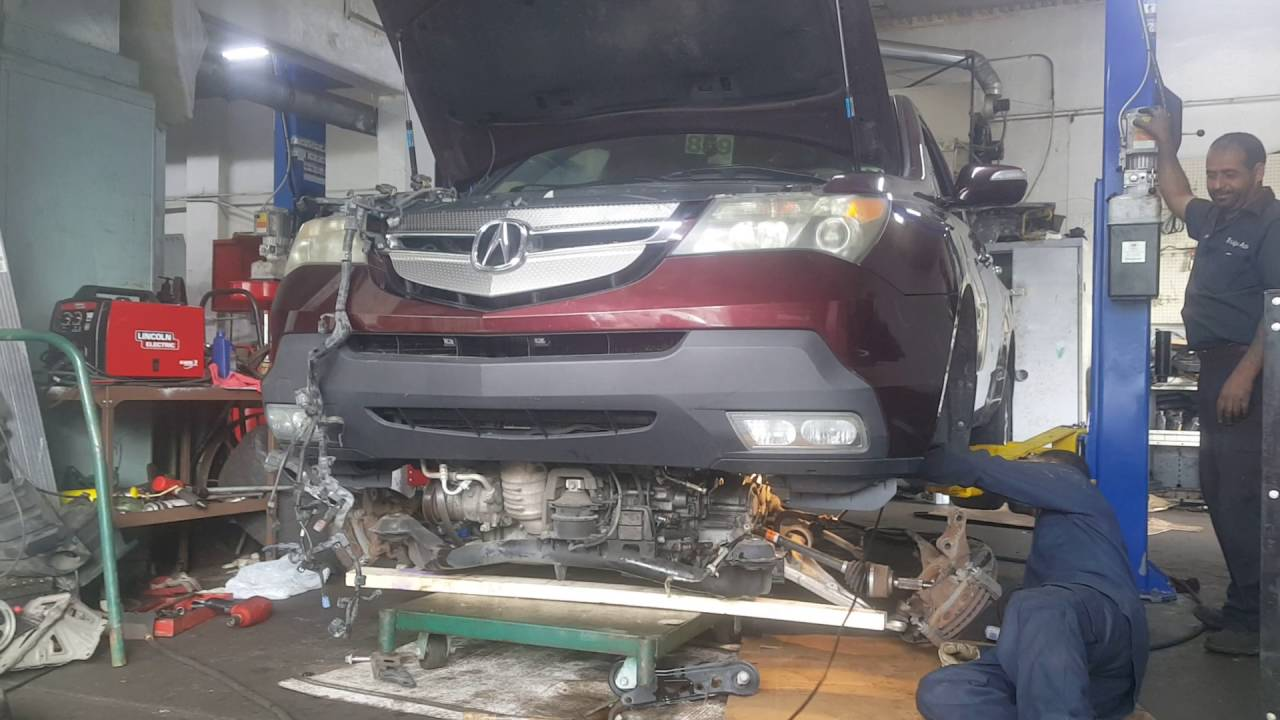 2007 Acura Mdx Engine Swap