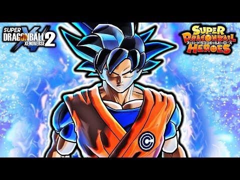 NEW ANIMATED HEROES ULTRA INSTINCT GOKU! Dragon Ball Xenoverse 2 Anime Cutscene Gameplay