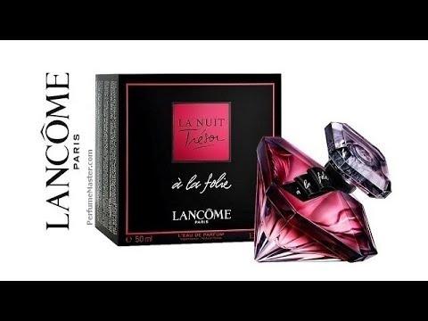 a214c1e91 Lancome La Nuit Tresor a La Folie Perfume - YouTube