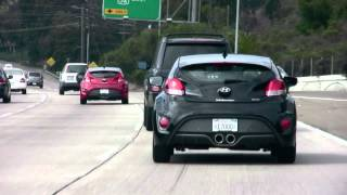 2013 Hyundai Veloster Turbo, On The Road