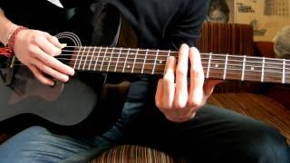 """Как Играть """"Anberlin - The Feel Good Drag"""" Урок На Гитаре"""