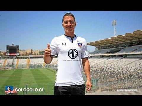 Así fue el primer día de Carlos Carmona en Colo-Colo - YouTube 152c6dacb3c5e