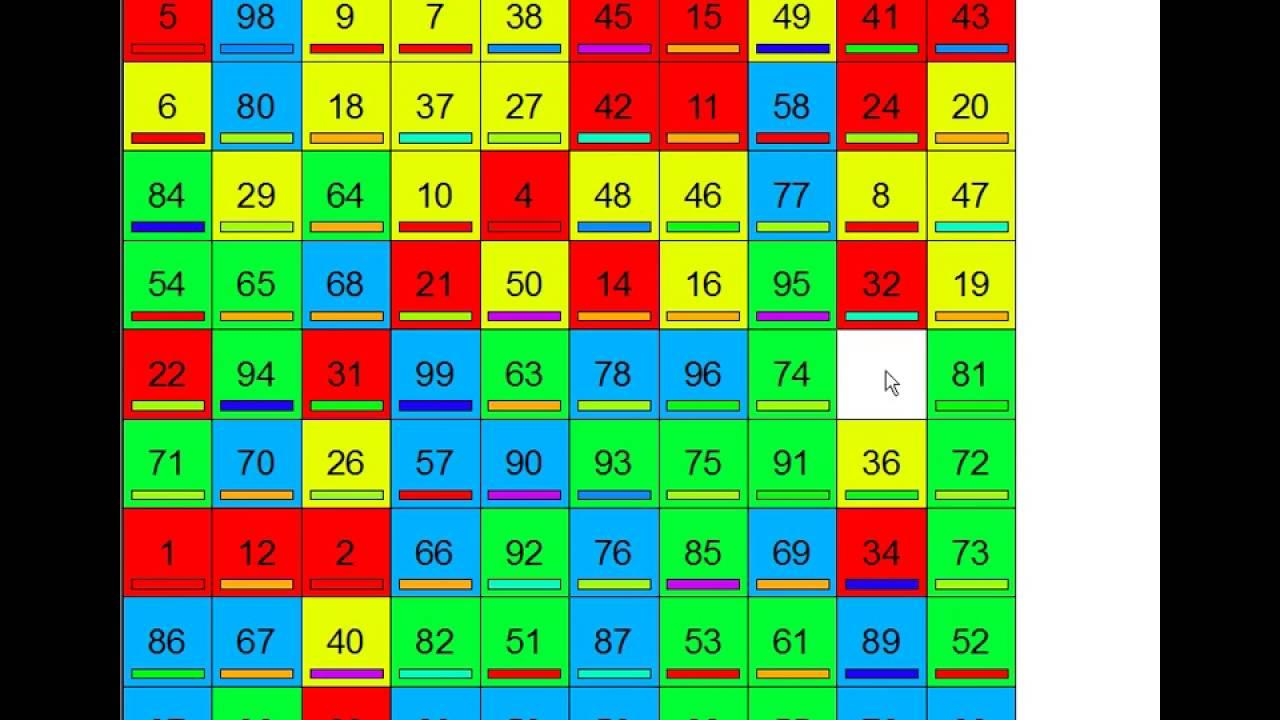10x10 Puzzle