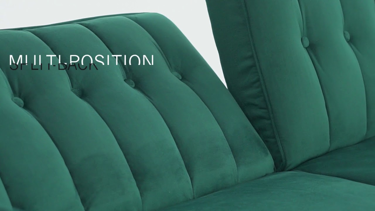 Dhp Pin Tufted Transitional Futon Youtube