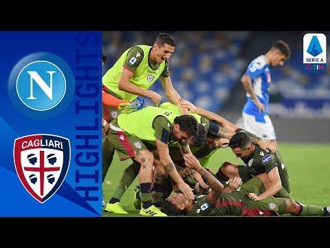 Napoli 0-1 Cagliari | Late Drama as Cagliari beat 10-men Napoli | Serie A