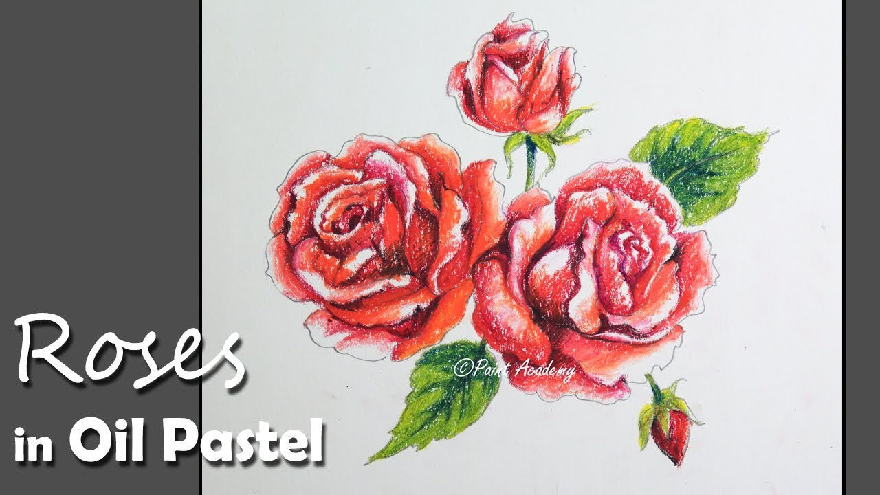 How to Paint Roses in Oil - Loose Approach - YouTube