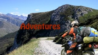 Explore the world on two wheels / alps adventure Yamaha DT