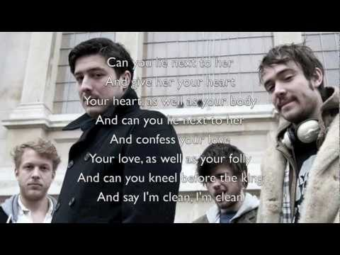 """White Blank Page"" - Mumford & Sons (Official Lyrics)"