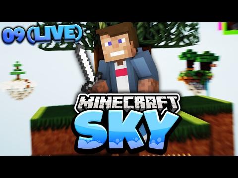 Spontaner Minecraft SKY Livestream   Dner