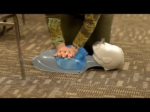 CPR Class at Crete Township Fire Protection District Illinois