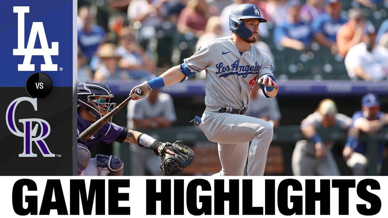 Download Dodgers vs. Rockies Game Highlights (9/23/21) | MLB Highlights