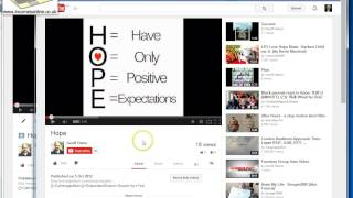How To Copy A You Tube Video From One You Tube Channel to Another