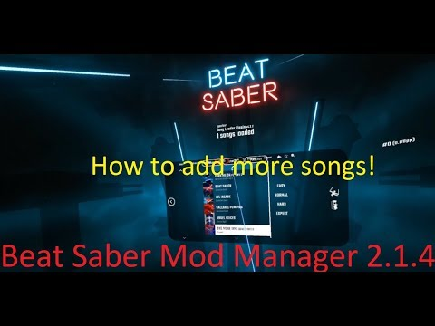 Quick How To Add Beat Saber Mods With Beatsabermodmanager