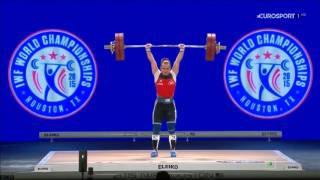 Чемпионат мира 2015. Женщины в.к. до 63 кг.