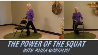 Balance Practice for Seniors with Paula Montalvo (Happy 86th Paula!)