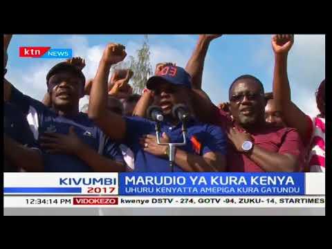 Governor Amason Kingi leads NASA supporters in poll boycott