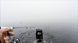 Fishing Thin Ice in EXTREME Fog
